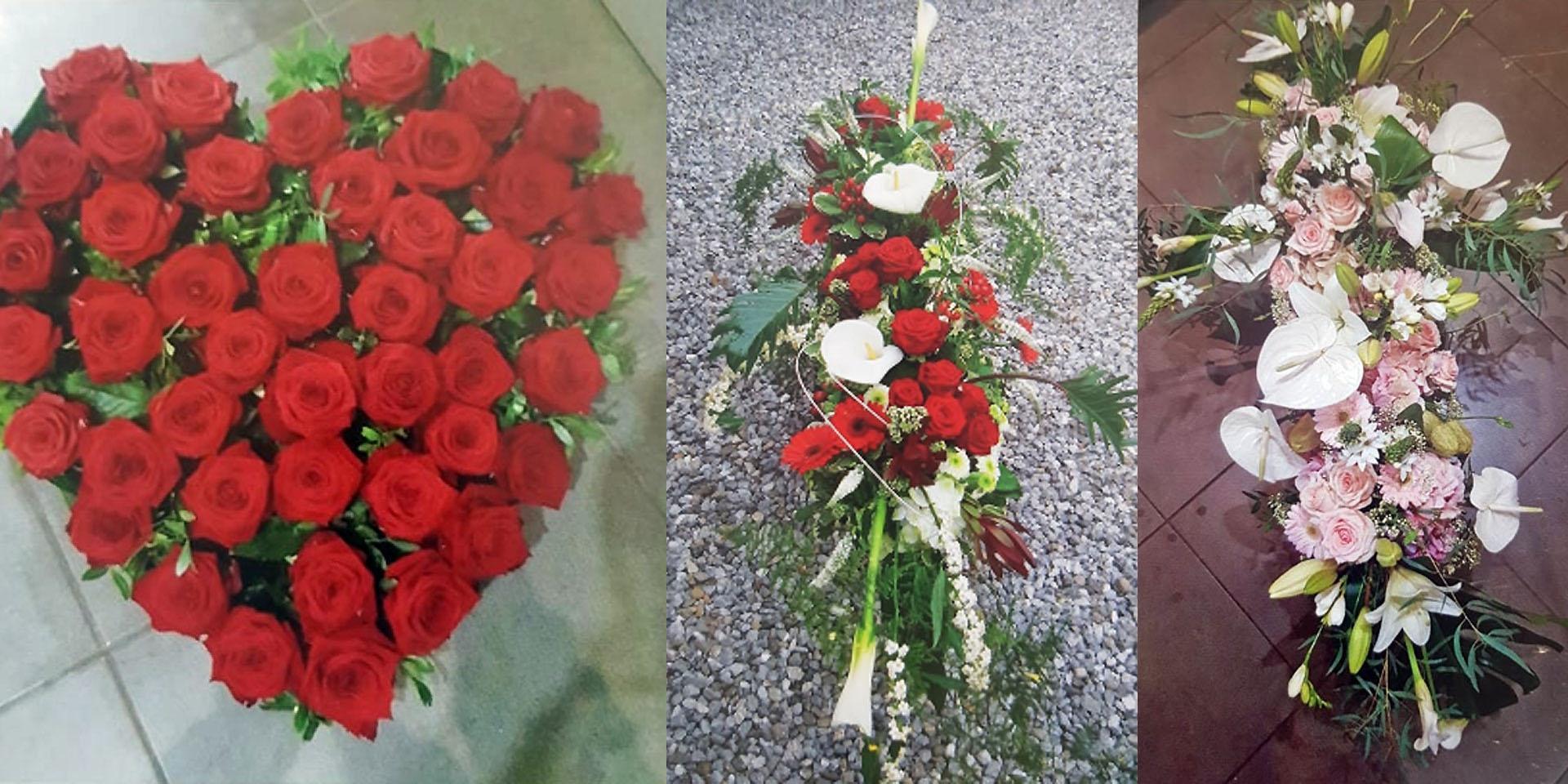 Compositions Florales, garanties en Fleurs fraiches de Saison